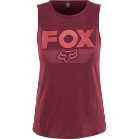 Fox Ascot Tanktop Damen charcoal/graphite/red